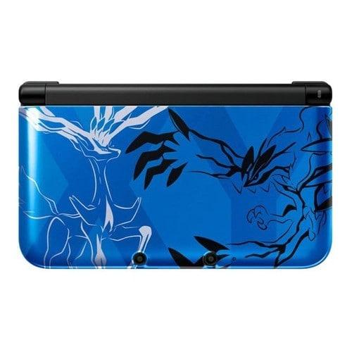 Nintendo 3ds xl pokemon xerneas yveltal blue console for Coque 3ds xl pokemon