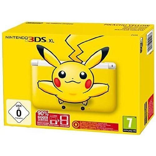 Console 3ds xl pikachu pas cher achat vente de consoles rakuten - Console nintendo 3ds xl pas cher ...