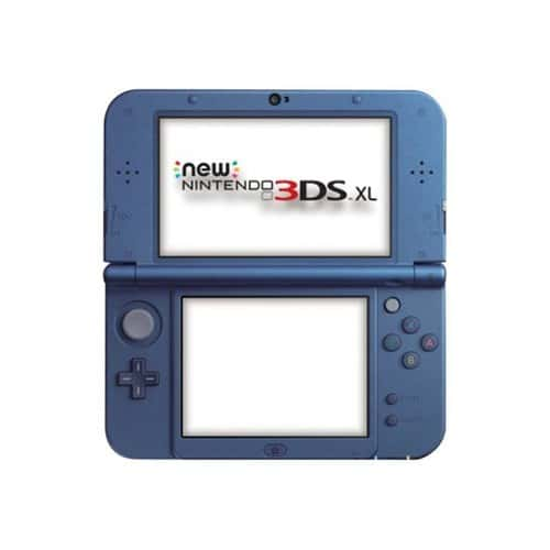 New nintendo 3ds xl console de jeu portable bleu pas cher - Console nintendo 3ds xl pas cher ...