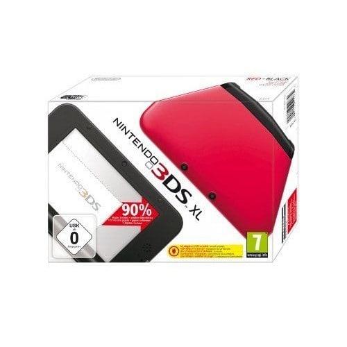 Console nintendo 3ds xl rouge noir pas cher rakuten - Console nintendo 3ds xl pas cher ...