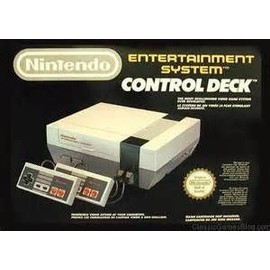 console nintendo entertainment system control deck pas cher. Black Bedroom Furniture Sets. Home Design Ideas