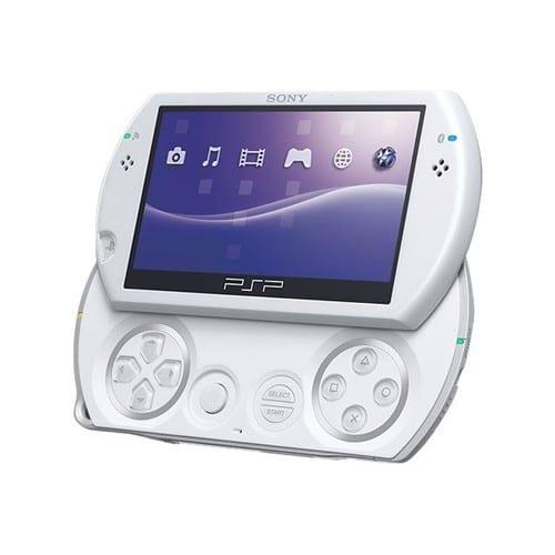 Sony Psp Go Console De Jeu Portable Blanc Perle Pas Cher Rakuten