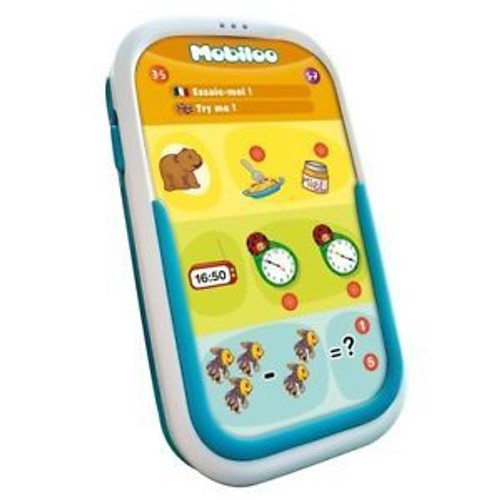 Console tactile portable bilingue mobiloo achat et vente - Console de jeux portable tactile ...