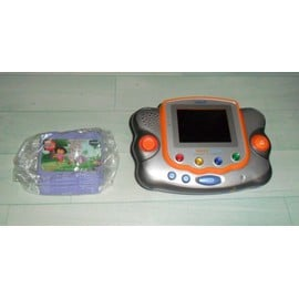 Console vtech vsmile pocket gris orange jeu dora l 39 exploratrice - Console vtech vsmile pocket ...
