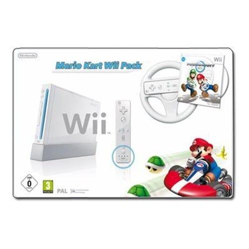 Nintendo wii mario kart wii pack console de jeux - Mario kart wii gratuit ...