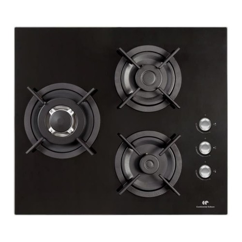 Continental edison cectg3vb table de cuisson au gaz - Table de cuisson gaz rosieres ...