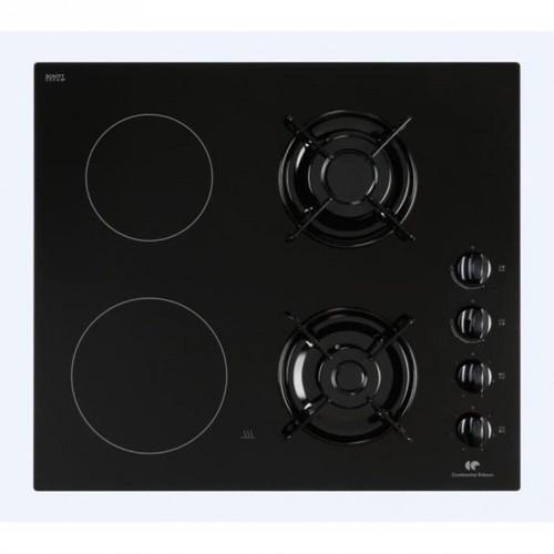 continental edison cpm2g2v table de cuisson vitroc ramique et gaz. Black Bedroom Furniture Sets. Home Design Ideas