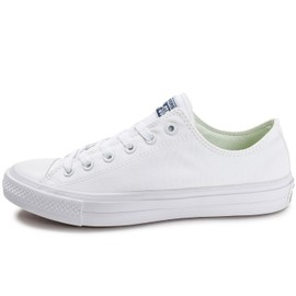 converse chuck taylor all star 2 ox blanche baskets tennis. Black Bedroom Furniture Sets. Home Design Ideas
