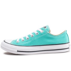 df20df0a0724f Converse Chuck Taylor All Star Low Bleu Turquoise Baskets Tennis Femme