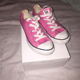 Converses Basse Roses Fille