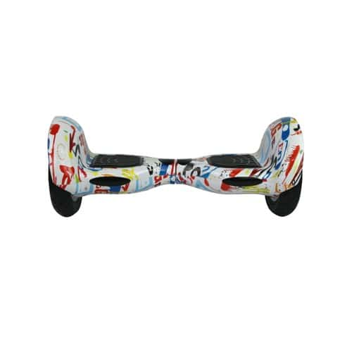 cool fun hoverboard scooter 10 pouces gyropode grafity. Black Bedroom Furniture Sets. Home Design Ideas