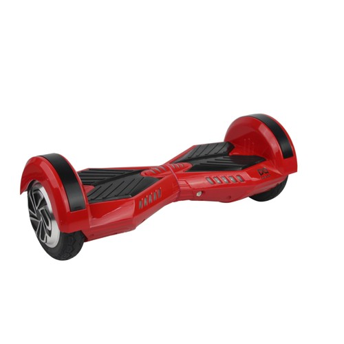 cool fun hoverboard scooter 8 pouces gyropode overboard rouge noir 2x 350w avec bluetooth. Black Bedroom Furniture Sets. Home Design Ideas