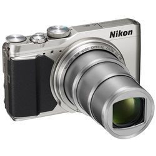COOLPIX S9900 Argent - Compact High Zoom - Capteur CMOS 16 Mpx - Zoom  Optique NIKKOR 30x - Ultra grand-angle 25-550 mm - Ecran ACL orientable 3  pouces