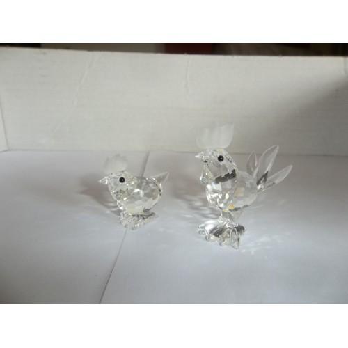 coq et poule en cristal swarovski neuf et d 39 occasion priceminister rakuten. Black Bedroom Furniture Sets. Home Design Ideas