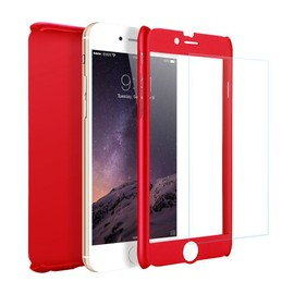 iphone 7 coque 360 rouge