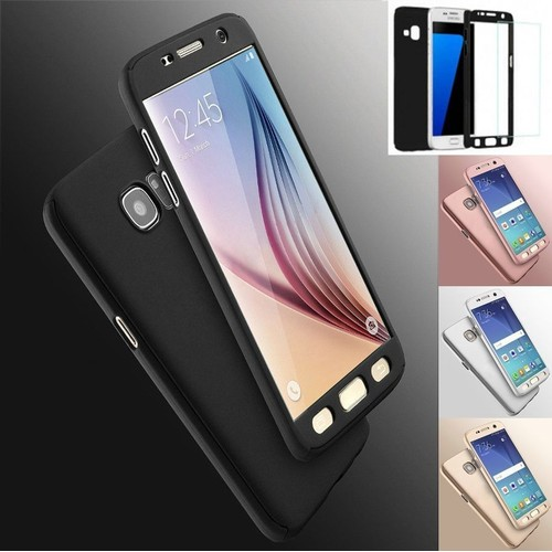 coque 360 full protection pour samsung galaxy j7 2016 verre tremp couleur or. Black Bedroom Furniture Sets. Home Design Ideas