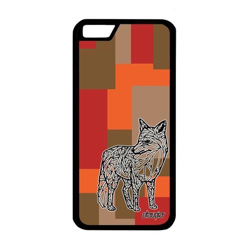 coque renard iphone 6