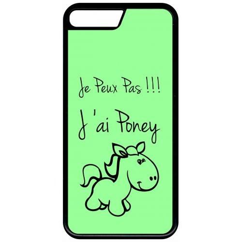 coque iphone 8 poney
