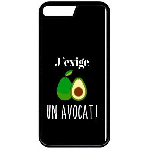 coque iphone x avocat