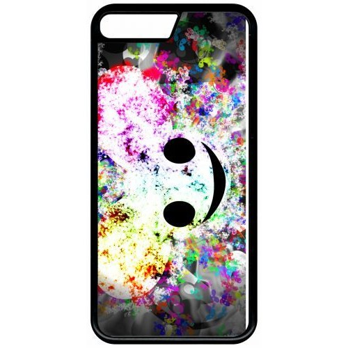 coque multicolor apple iphone x