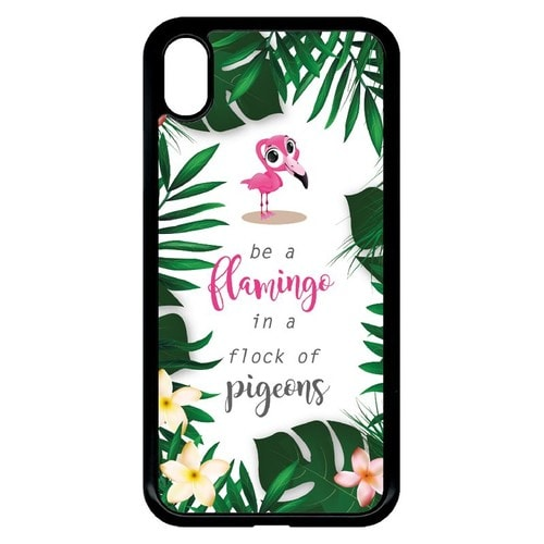 coque flamand rose iphone xr