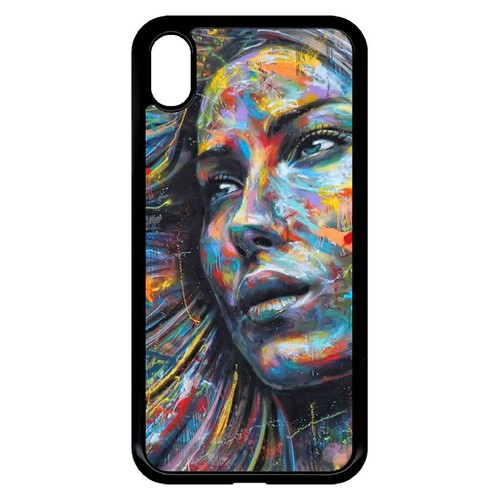 coque visage iphone xr