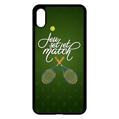 coque iphone xs tennis
