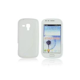 Coque Arri�re En Gel Silicone Blanc Pour Nokia Lumia 525