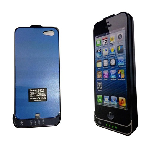 coque batterie apple iphone 5 2200mah pas cher rakuten. Black Bedroom Furniture Sets. Home Design Ideas