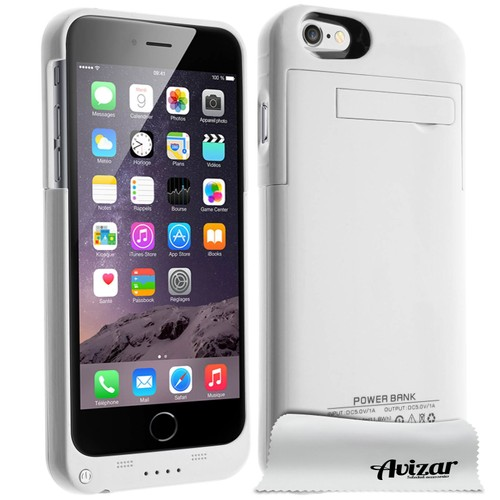 coque iphone 6 batterie apple blanc