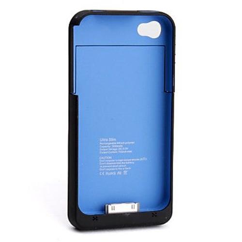 coque batterie pour iphone 4 4s capacit 1900 mah pas cher. Black Bedroom Furniture Sets. Home Design Ideas