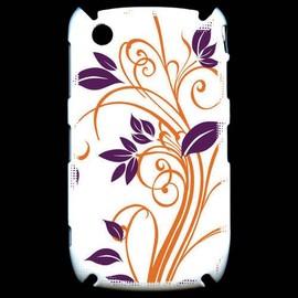 Coque Black Berry 8520 Motif Flora Violet