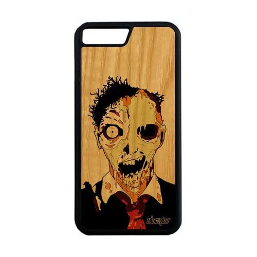 iphone 8 plus coque bois