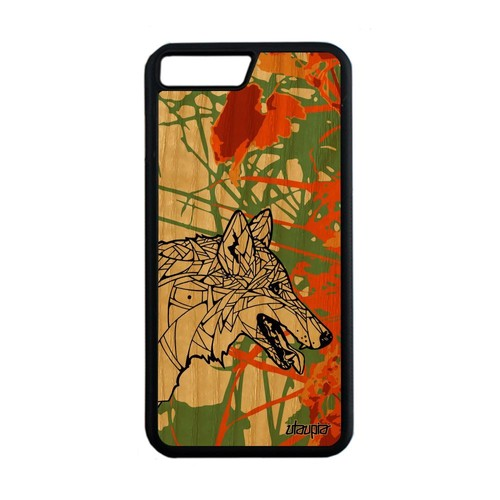 coque iphone 8 plus silicone orange