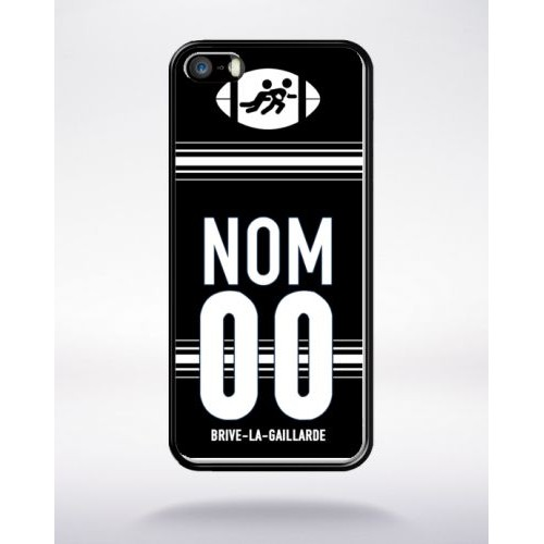 coque iphone 5 apple noir