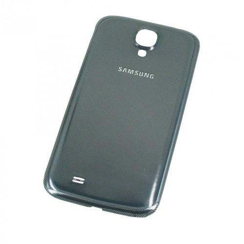 coque cache batterie samsung galaxy s4 i9500 noir gris. Black Bedroom Furniture Sets. Home Design Ideas
