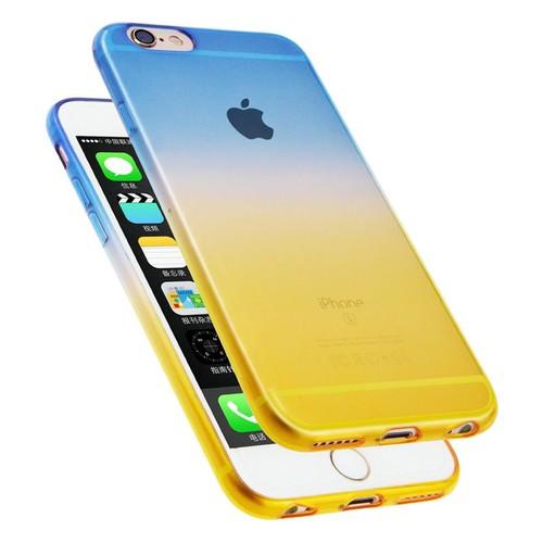 coque iphone xr jaune degrade