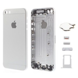 Coque Châssis Arrière Silver/Blanc iPhone 5S Style iPhone 6 Outils