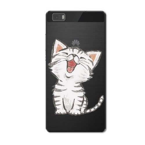 coque chat pour huawei p8 lite