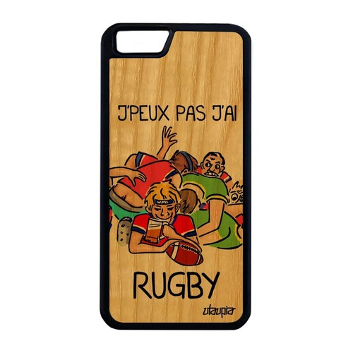 coque iphone 6 rugby silicone
