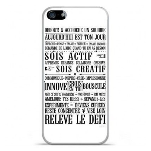 coque iphone xr silicone phrase