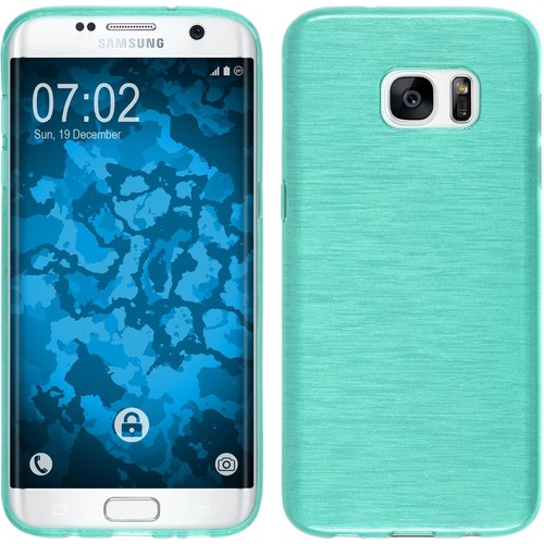 coque en silicone pour samsung galaxy s7 edge brushed. Black Bedroom Furniture Sets. Home Design Ideas