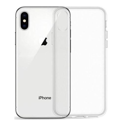 iphone xr coque silicone transparent
