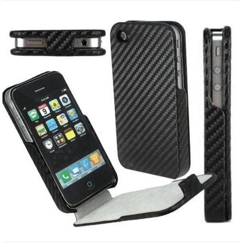 Coque etui housse effet carbone pour iphone 4 iphone4 pas cher for Etui housse iphone 4