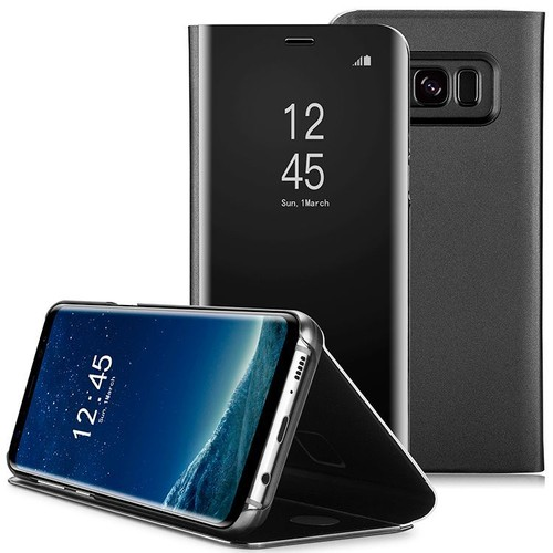 coque etui housse pour samsung galaxy note 8 film de protection souple clear view etui rabat. Black Bedroom Furniture Sets. Home Design Ideas