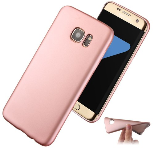 coque etui housse silicone tpu galaxy s7 edge film stylet rose or. Black Bedroom Furniture Sets. Home Design Ideas