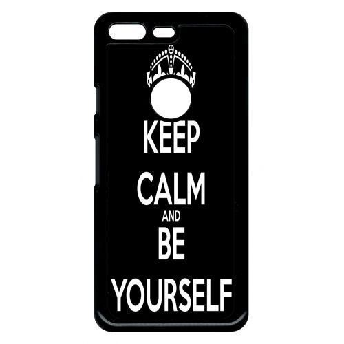 ... PU Leather Wallet Case Magnetic Flip Stand. Source · coque-google-pixel-keep-calm-be-yourself-1120088737_L.