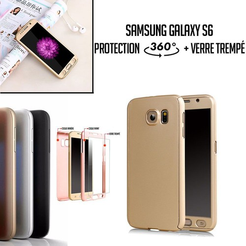 coque samsung s6 edge plus 360