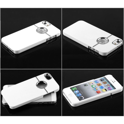 Coque housse tui iphone 5 5g 5s mod le premium silver for Housse iphone 5 c