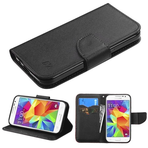 Coque housse tui portefeuille porte carte avec fermeture magn tique support vid o pour samsung - Fermeture magnetique porte ...